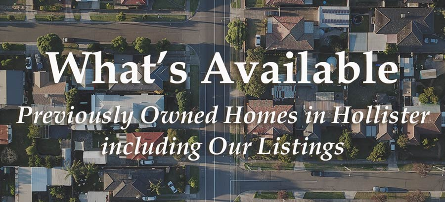 Learn what existing homes are available from our current listings and what homes nearby we can help you find.